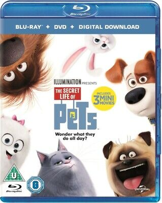 The Secret Life Of Pets (Blu-ray + DVD + Digital Download) [2015]