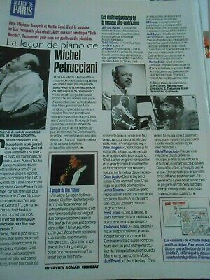 Clipping Coupure de Presse 1997 La lecon de piano de Michel Petrucciani