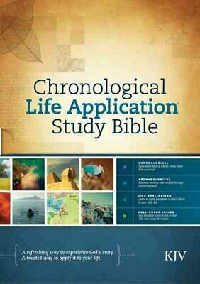 Chronological Life Application Study Bible-KJV by Tyndale 9781414380582