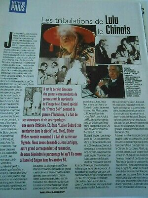 Clipping Coupure de Presse 1997 Les tribulations de Lulu le Chinois