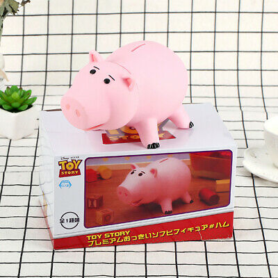 Toy Story Hamm Piggy Bank Coin Save Money Box Ham Figures Pig Kids Gift %N