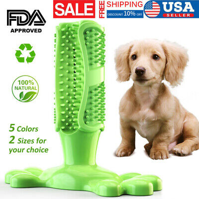 Dog Toothbrush Pet Brushing Stick Teeth Cleaning Chew Toy For Dogs Pet Oral.care