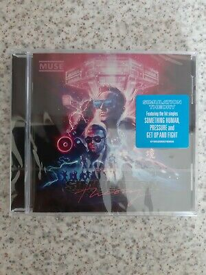 MUSE - SIMULATION THEORY - CD Album (2018) New and sealed.