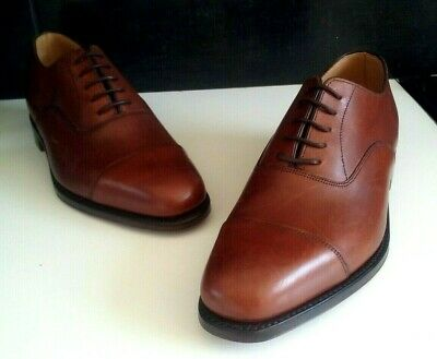 New Loake 1880 Aldwych Brown Oxford With Goodyear Welted Sole Rrp £240 Size Uk 7