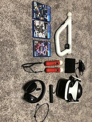 Sony PlayStation VR Headset with Camera Custome bundle