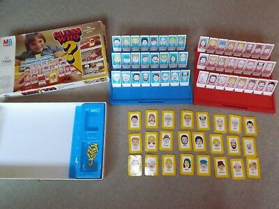 Guess Who Board Game Vintage Retro 1979 Mb Games