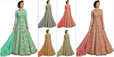 Indian Designer Anarkali Wedding Kameez Salwar Fancy Long Gown Party Wear Dress