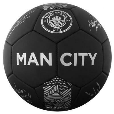 Manchester City F.C. Football Signature PH Size 5 Official Merchandise - NEW