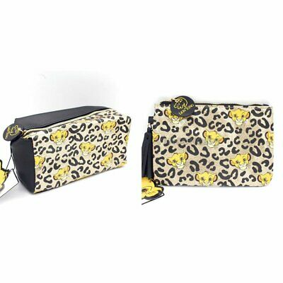 Authentic Primark Disney Lion King Cosmetic Case Pouch Bag Make Up Bag