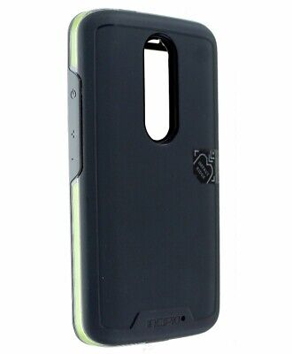 Incipio Performance Series Level 5 Case Cover for Droid Turbo 2 - Grey / Yellow