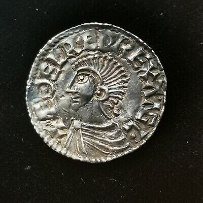 A Stunning Ethelred The Unready Hammered Penny