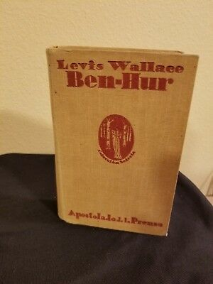 BEN-HUR LEWIS WALLACE Ben Hur: Historical Novel of the Times of in Spanish 1931