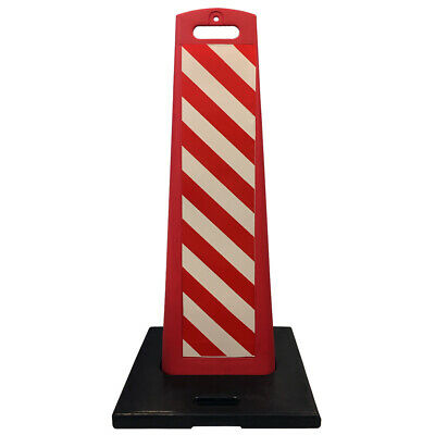 Vertical Panel Barricades - Stackable - 2 Piece Design - Electriduct