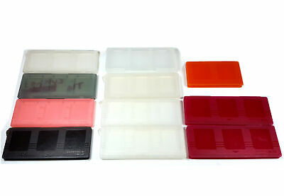 Lot of 11x Plastic Game Cartridge Cases For Nintendo DS and 3DS SEE PHOTOS