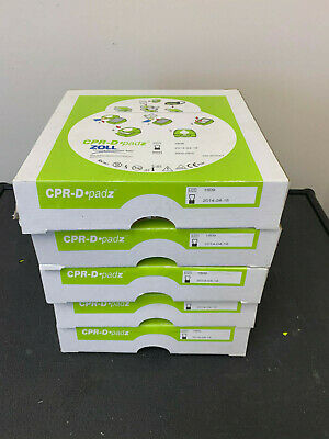LOT of 5 Zoll CPR-D padz 8900-0800 expired, new