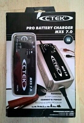 CTEK MXS 7.0 12V 7A Fully Automatic  Battery Charger