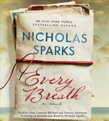 Every Breath by Nicholas Sparks 9781549194702 | Brand New | Free US Shipping