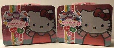 Hello Kitty America The Beautiful Series 1 Collectible Tin Lunch Box - Lot Of 2