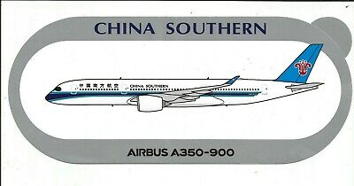 Nouveau A350-900 China Southern Sticker Autocollant - Neuf