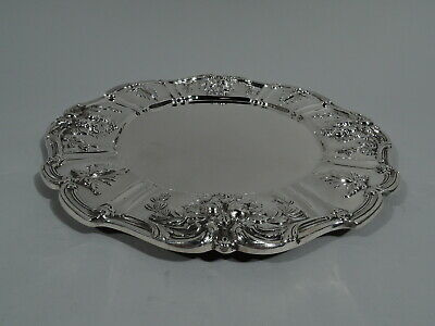Reed & Barton Francis I Plate - X567 Dinner Charger - American Sterling Silver