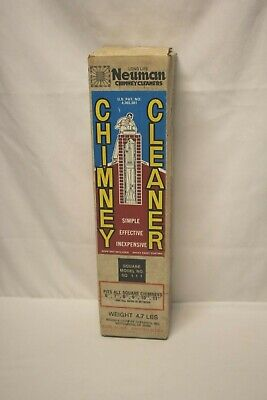 """NEW IN BOX NEUMAN Chimney Cleaner Model SQ111 - FITS 6-11"""" Square Made in USA"""