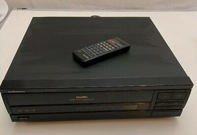 Pioneer - CLD-980 Laserdisc Player w/ Remote - Tested - Works Great!