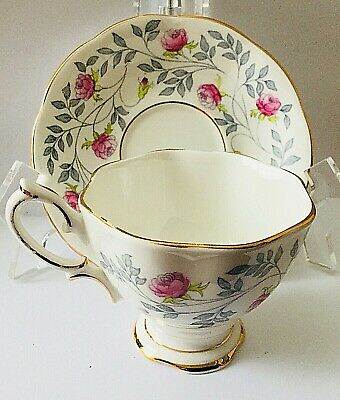 Vintage Royal Albert * Conway Tea. Cup And Saucer * Hand-Painted Gorgeous