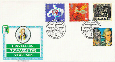 (32342) GB Heyden FDC Travellers Tale Marton-in-Cleveland 1999