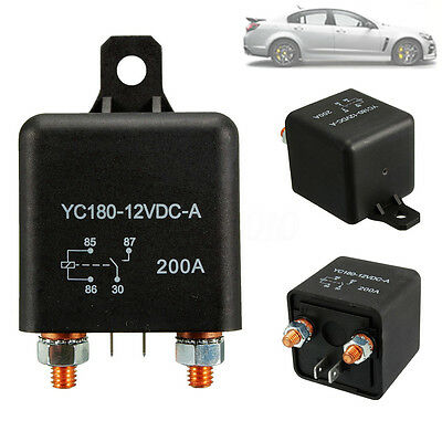 Relays 200A 12V DC Car Automotive ON/OFF Switch Car Boat Box Battery 200Amp