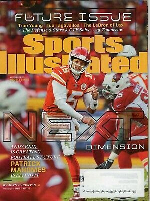 2018 Sports Illustrated Si PATRICK MAHOMES Chiefs subscription copy