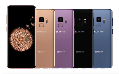 NEW Samsung Galaxy S9 64GB G960U Sprint Virgin Boost Mobile Smartphone