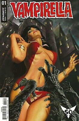 Vampirella #1 2019  Cover B -  Alex Ross Cover Art - 50Th Anniver Of Vampirella!