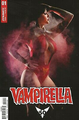 Vampirella #1 2019  Cover E Cosplay Photo Cover  50Th Anniversary Of Vampirella!