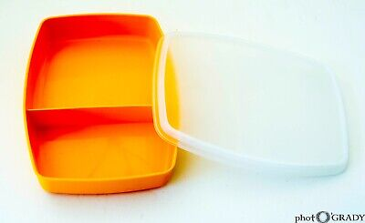 Tupperware Divided Lunch Snack Container