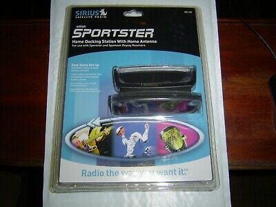 """NEW"" Sirius SP-H2 Sportster Home Docking Station With Home Antenna"