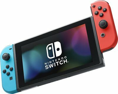 Nintendo Switch 32GB Console with Neon Blue / Red Joy-Cons HAC-001 - UD