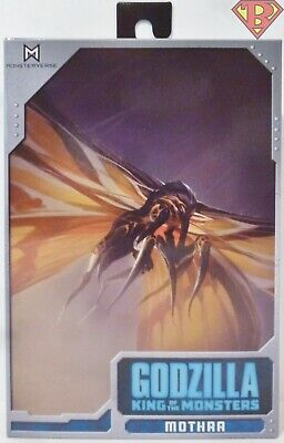 """MOTHRA Godzilla King of the Monsters 12"""" Wing to Wing Action Figure Neca 2019"""