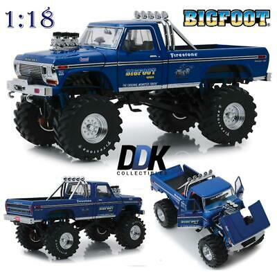 Presale: Greenlight 13537 1974 Ford F-250 Bigfoot #1 Diecast Monster Truck 1:18