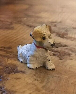 Hubley Cast Iron Terrier Dog Small Paperweight