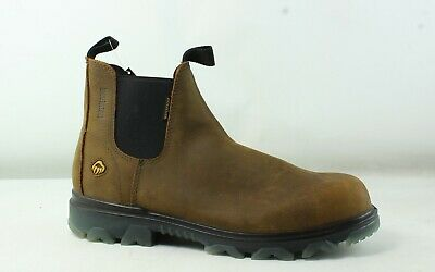 f75a518def9 WOLVERINE MENS ROMEO Sudan Brown Work & Safety Boots Size 11 (448112 ...