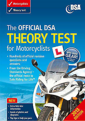 The Official DSA Theory Test for Motorcyclists Book 2013 edition by Driving Stan