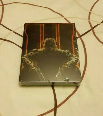 Call of Duty Black Ops 3 With Steelbook Xbox One Sealed