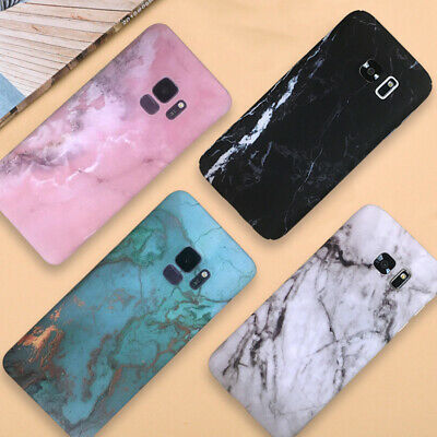 MARBLE PHONE CASE For LG Stylo 4 Tuff HYBRID Shockproof Armor Rugged