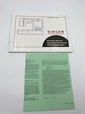 Singer Sewing Machine model # 1725 Instruction Manual
