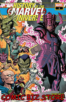 History Of Marvel Universe #1 (Of 6) (2019) 1St Print Mcniven Main Cover ($4.99)