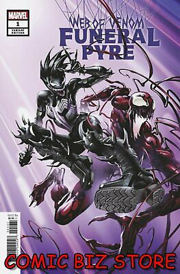 Web Of Venom Funeral Pyre #1 (2019) 1St Printing Scarce Crain 1:25 Variant Cover