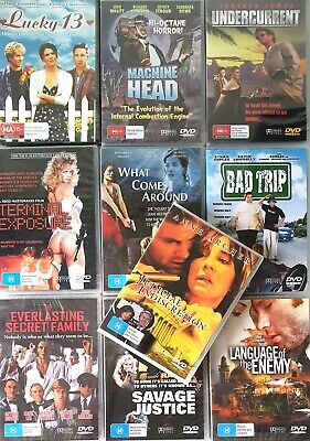 Bulk Lot x 10 Assorted Titles Movies DVD New & Sealed FREE POST