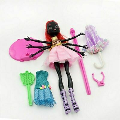 Wydowna Spider Monster High Doll Shoes Boots Fashion Love I Webarella Lot