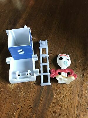 2019 McDonalds TOY STORY 4 ~ Toy # 4 FORKY'S TOSS  ~ FORKY - Opened, not sealed