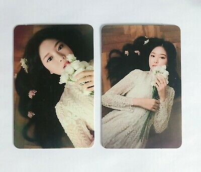 "LOONA HyunJin ""Around You"" Single Album Photocard Set of 2 Card Rare KPOP"